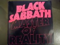 LP Black Sabbath Master of Reality