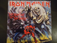 LP Iron Maiden The number of the beast