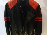 70's motorcycle real leather jacket