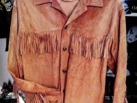 70's leather shirt cowboy
